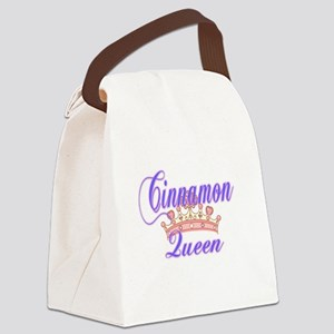 Cinnamon Queen Canvas Lunch Bag