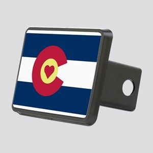 Colorado Love Flag Hitch Cover