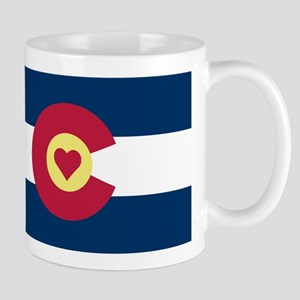Colorado Love Flag Mugs