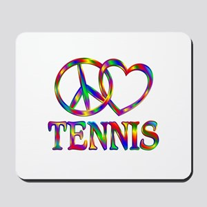 Peace Love Tennis Mousepad