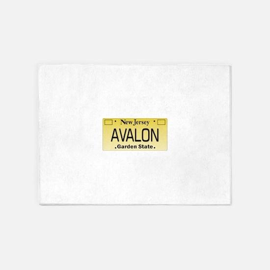 Avalon NJ Tag Giftware 5'x7'Area Rug