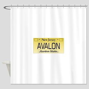 Avalon NJ Tag Giftware Shower Curtain
