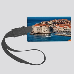 Dubrovnik, Croatia Large Luggage Tag