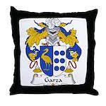 Garza Family Crest Throw Pillow
