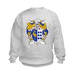 Garza Family Crest Kids Sweatshirt