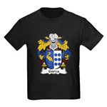 Garza Family Crest Kids Dark T-Shirt