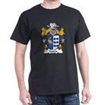 Garza Family Crest Dark T-Shirt