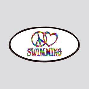 Peace Love Swimming Patch