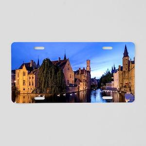 Stunning! Bruges Pro Photo Aluminum License Plate