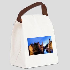 Stunning! Bruges Pro Photo Canvas Lunch Bag