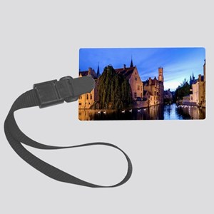 Stunning! Bruges Pro Photo Large Luggage Tag