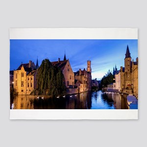 Stunning! Bruges Pro Photo 5'x7'Area Rug