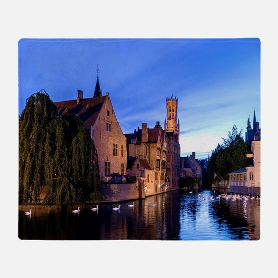 Stunning! Bruges Pro Photo Throw Blanket