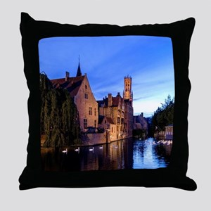 Stunning! Bruges Pro Photo Throw Pillow