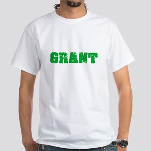 Grant Name Weathered Green Design T-Shirt