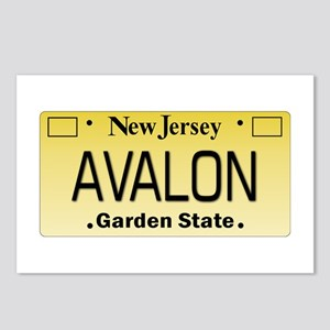 Avalon NJ Tag Giftware Postcards (Package of 8)