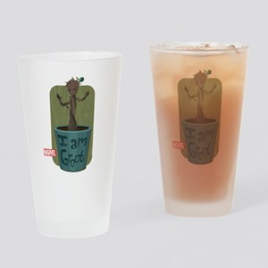 Guardians Baby Groot Drinking Glass