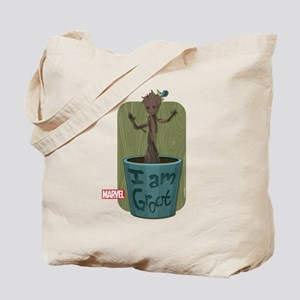Guardians Baby Groot Tote Bag