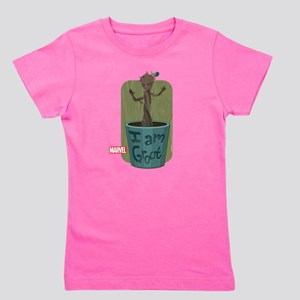 Guardians Baby Groot Girl's Tee