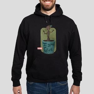 Guardians Baby Groot Hoodie (dark)