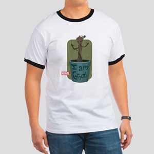 Guardians Baby Groot Ringer T