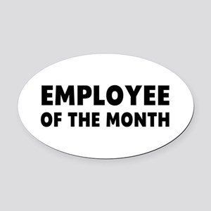 Employee Month Oval Car Magnet