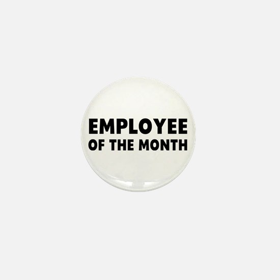 Employee Month Mini Button
