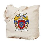 Gamiz Family Crest Tote Bag