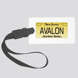 Avalon NJ Tag Giftware Large Luggage Tag