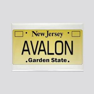 Avalon NJ Tag Giftware Magnets