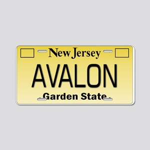 Avalon NJ Tag Giftware Aluminum License Plate