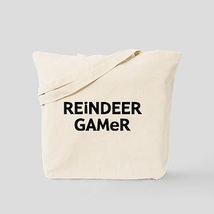 Reindeer Gamer Tote Bag