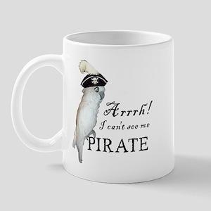 Pirate Cockatoo Mug