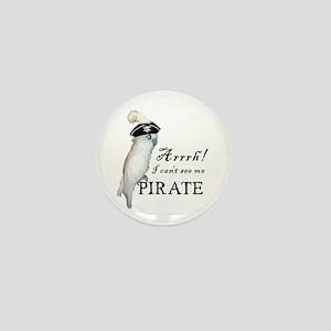 Pirate Cockatoo Mini Button