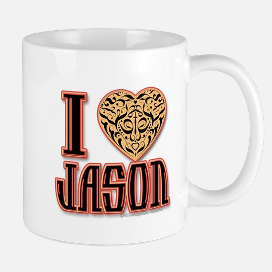 I Love Jason Mugs
