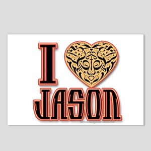 I Love Jason Postcards (Package of 8)