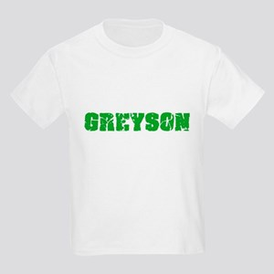 Greyson Name Weathered Green Design T-Shirt