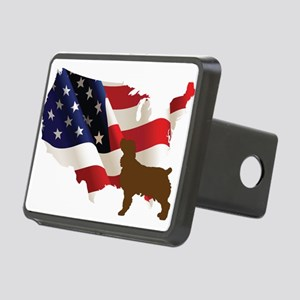 USA Proud Boykin Spaniel Hitch Cover