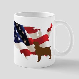 USA Proud Boykin Spaniel Mugs