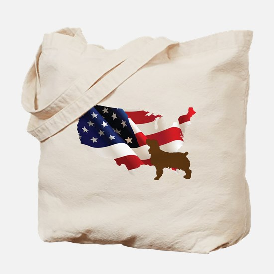 USA Proud Boykin Spaniel Tote Bag