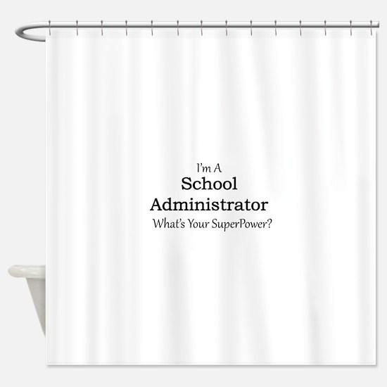 School Administrator Shower Curtain