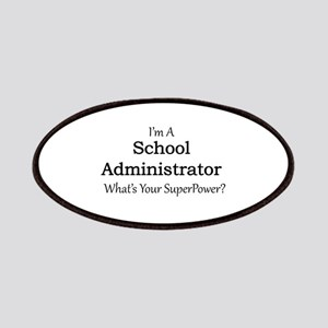School Administrator Patch