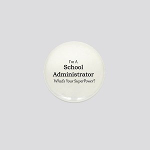 School Administrator Mini Button