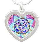 Blue Mandala Necklaces