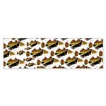 Humu Pattern Bumper Sticker