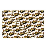 Humu Pattern Postcards (Package of 8)