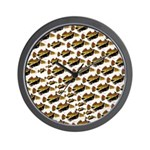 Humu Pattern Wall Clock
