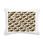 Humu Pattern Rectangular Canvas Pillow
