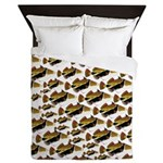 Humu Pattern Queen Duvet