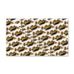 Humu Pattern Car Magnet 20 x 12
